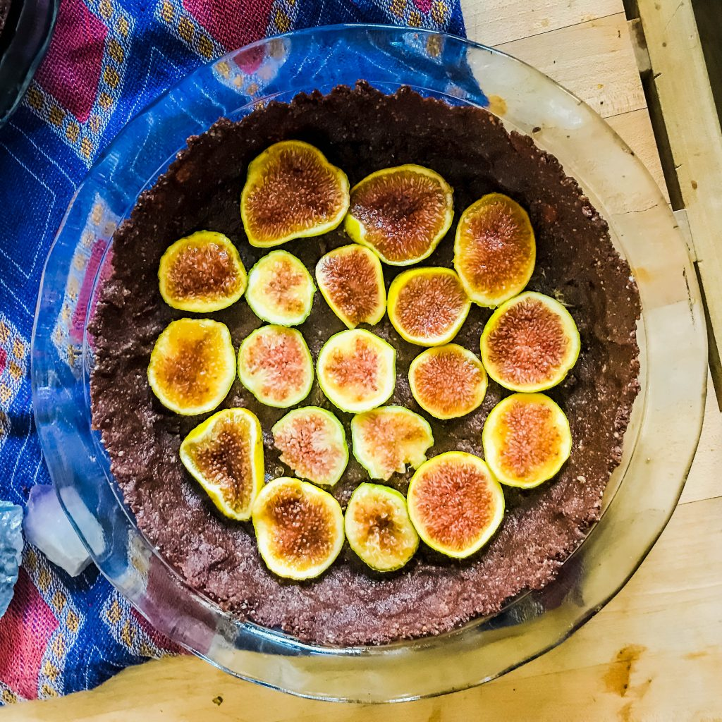 Chocolate Fig Pie