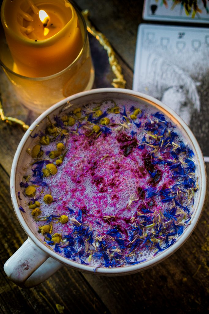 Flower Berry Moon Milk