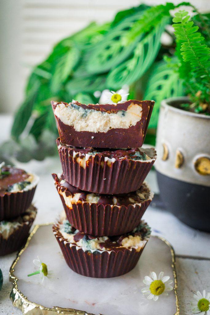 Minty Mocha Coconut Butter Cups