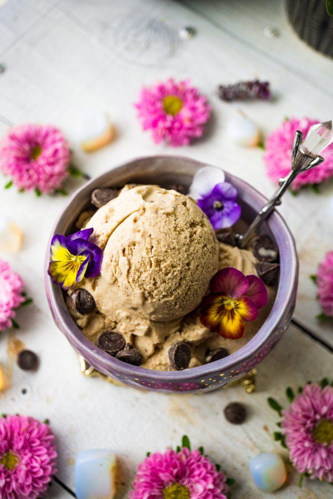 Adaptogenic Cold Brew Coffee Coconut Ice Cream