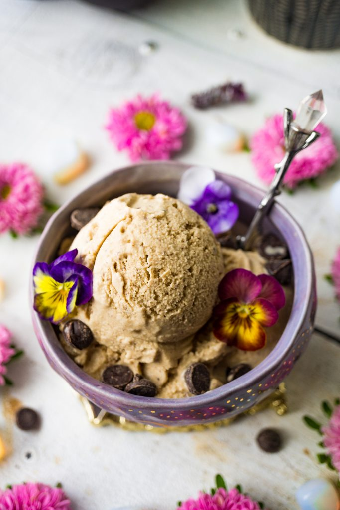 Adaptogenic Cold Brew Coffee Coconut Ice Cream