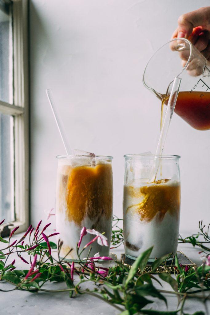 Vietnamese Iced Herbal Coffee