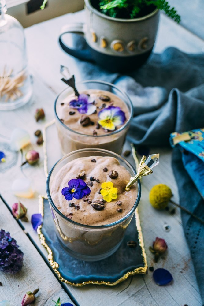 Herbal Coffee & Mocha Smoothie