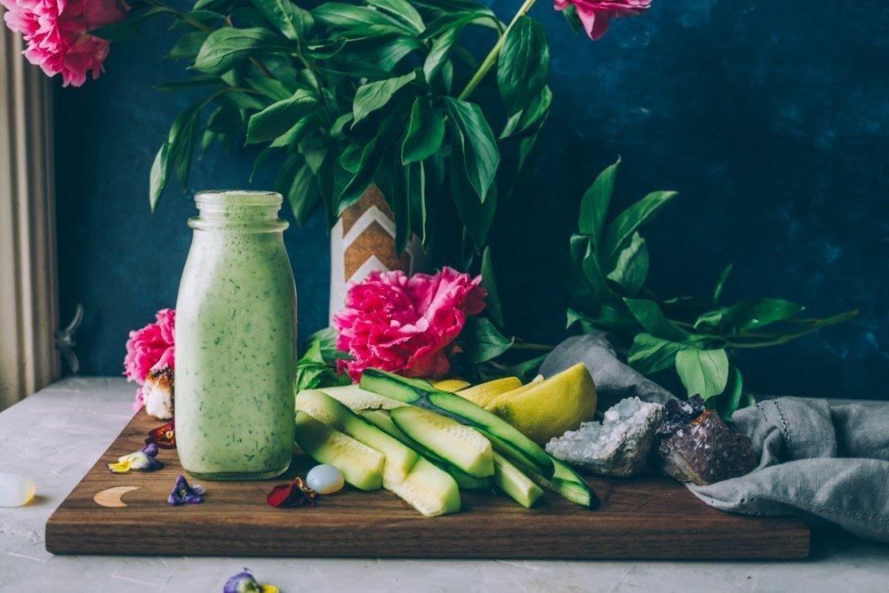 Probiotic Rich Vegan Ranch Dressing