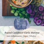 Roasted Cauliflower Garlic Hummus