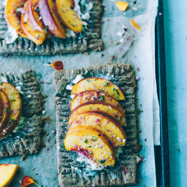 Peachy Rose Tarts