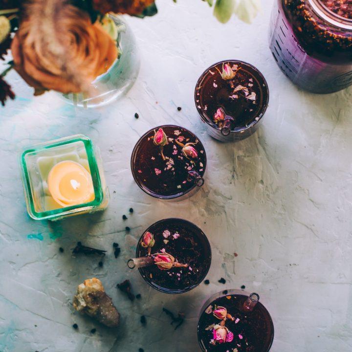 Triple Berry Vanilla Rooibos Tea