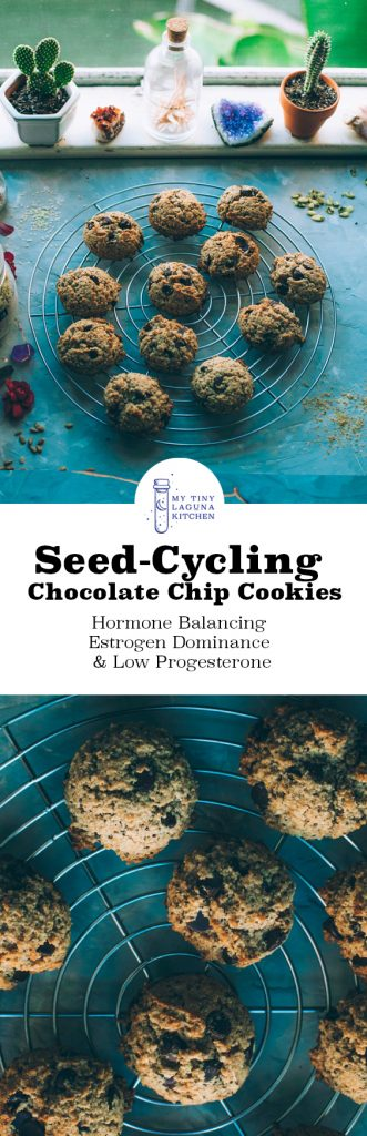 seed-cycling chocolate chip cookies