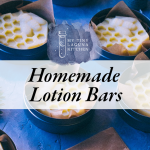 Homemade Winter Forest Lotion Bars