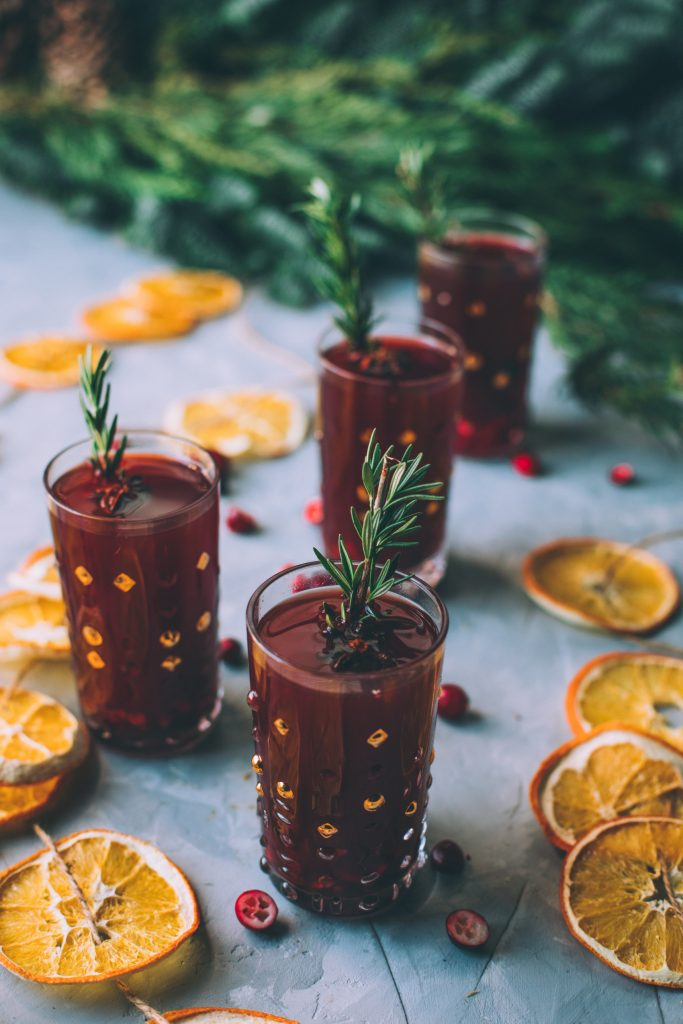 Winter Cranberry Mulled Cider
