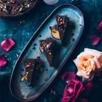 Rose Ganache Chocolate Tart
