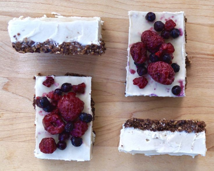 Paleo Vegan Cheesecake (Dairy Free) - Cook At Home Mom