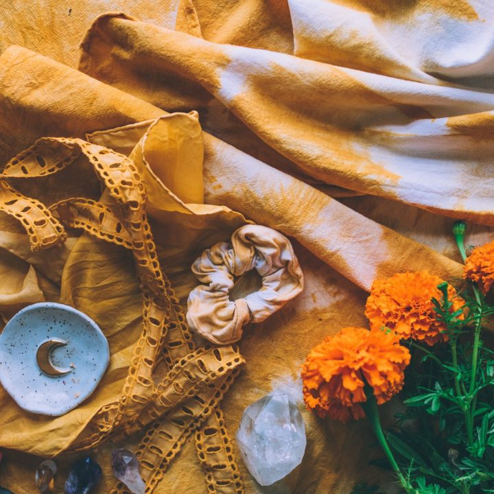 How To Natural Dye using Marigold