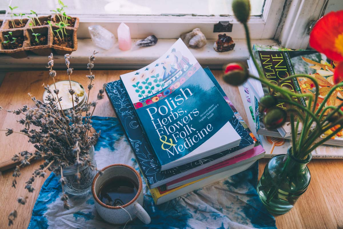 Polish Herbs, Flowers & Folk Medicine is an amazing book to connect with my ancestral roots.